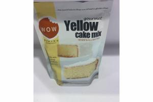 GOURMET YELLOW CAKE MIX