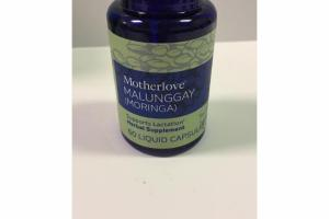 MALUNGGAY (MORINGA) SUPPORTS LACTATION HERBAL SUPPLEMENT LIQUID CAPSULES