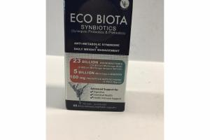ECO BIOTA SYNBIOTICS (SYNERGISTIC PROBIOTICS & PREBIOTICS) DELAY RELEASED VEGETABLE CAPSULES