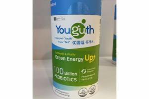 GUT HEALTH & VITALITY GREEN ENERGY UP HEALTH SUPPLEMENT