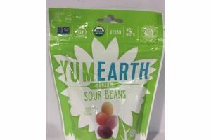 ORGANIC MIXED FRUITY SOUR BEANS