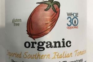 ORGANIC SOUTHERN ITALIAN PREMIUM CHOPPED TOMATOES
