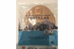 GRAIN FREE CASSAVA & TIGERNUT FLOUR TORTILLAS