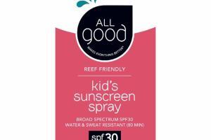 KID'S SUNSCREEN SPRAY BROAD SPECTRUM SPF30 WATER & SWEAT RESISTANT (80 MIN)