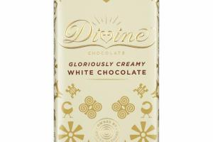 GLORIOUSLY CREAMY WHITE CHOCOLATE