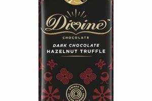 HAZELNUT TRUFFLE DARK CHOCOLATE