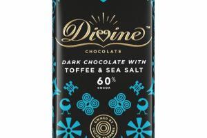 DARK CHOCOLATE WITH TOFFEE & SEA SALT