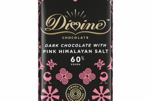 DARK CHOCOLATE WITH PINK HIMALAYAN SALT
