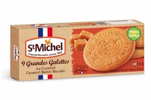 CARAMEL BUTTER COOKIES GRANDES GALETTES