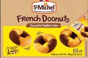 CHOCOLATE MARBLE CAKES FRENCH DOONUTS