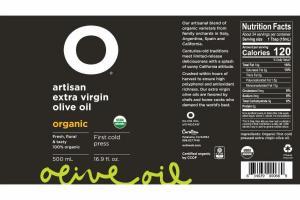 ORGANIC ARTISAN EXTRA VIRGIN OLIVE OIL