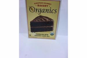 CHOCOLOATE ORGANIC CAKE MIX