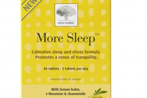 MORE SLEEP WITH LEMON BALM, L-THEANINE & CHAMOMILE DIETARY SUPPLEMENT TABLETS