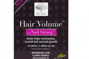 PLUS NAIL STRONG WITH ORTHOSILICIC ACID & APPLE EXTRACT DIETARY SUPPLEMENT TABLETS