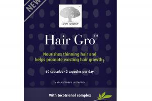 HAIR GRO WITH TOCOTRIENOL COMPLEX DIETARY SUPPLEMENT CAPSULES