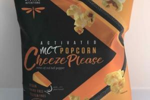 CHEEZE PLEASE ACTIVATED MCT POPCORN