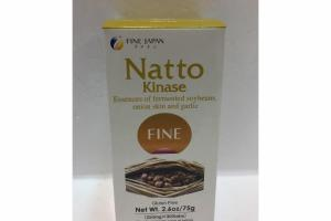 NATTO KINASE ESSENCES OF FERMENTED SOYBEANS, ONION SKIN AND GARLIC DIETARY SUPPLEMENT