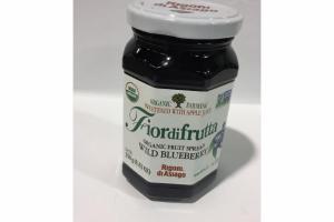 FIORDIFRUTTA ORGANIC FRUIT SPREAD WILD BLUEBERRY