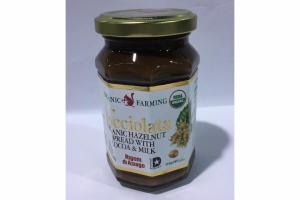 ORGANIC HAZELNUT SPREAD WITH COCOA & MILK