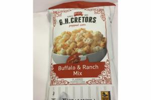 BUFFALO & RANCH MIX FLAVORED POPPED CORN