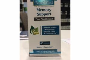 MEMORY SUPPORT PURE PLANT EXTRACT CAPSULES