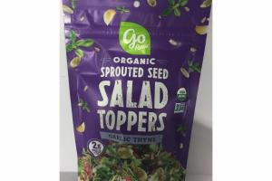 ORGANIC GARLIC THYME SPROUTED SEED SALAD TOPPERS