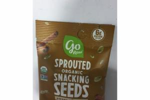 SWEET CINNAMON SPROUTED ORGANIC SNACKING SEEDS