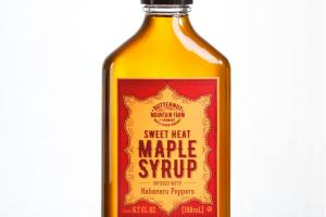 SWEET HEAT MAPLE SYRUP INFUSED WITH HABANERO PEPPERS