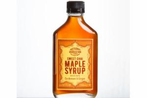 SWEET CHAI MAPLE SYRUP INFUSED WITH CARDAMOM & GINGER
