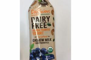 WILD BLUEBERRY ORGANIC CASHEW PROBIOTIC YOGURT