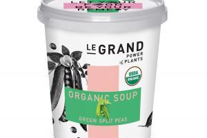 GREEN SPLIT PEAS ORGANIC SOUP