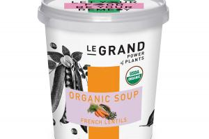 FRENCH LENTILS ORGANIC SOUP