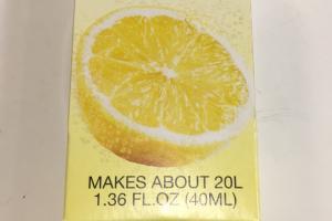 Lemon Drops Unsweetened Natural Flavor Essence