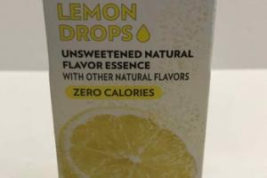 LEMON UNSWEETENED NATURAL FLAVOR ESSENCE DROPS