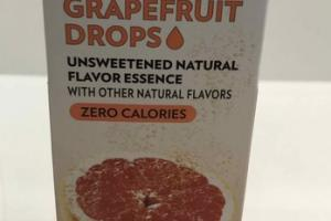 UNSWEETENED NATURAL FLAVOR ESSENCE GRAPEFRUIT DROPS