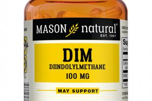 DIM DIINDOLYLMETHANE 100 MG DIETARY SUPPLEMENT CAPSULES