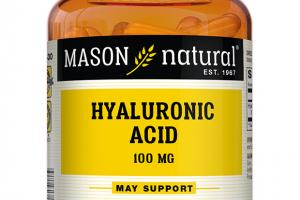 HYALURONIC ACID 100 MG GENERAL HEALTH DIETARY SUPPLEMENT CAPSULES