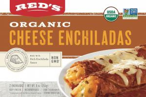 Organic Cheese Enchiladas