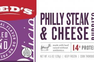 Philly Steak & Cheese Burrito
