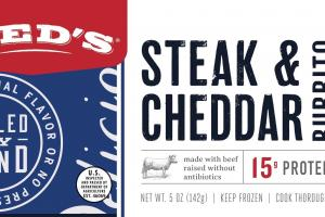 Steak & Cheddar Burrito
