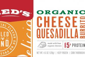Organic Cheese Quesadilla Burrito