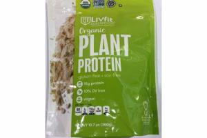 ORGANIC PLANT PROTEIN SUPERFOOD
