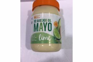 LIME 100% PURE AVOCADO OIL MAYO