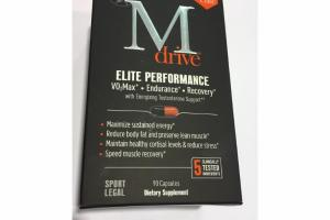 ELITE PERFORMANCE SPORT LEGAL DIETARY SUPPLEMENT CAPSULES