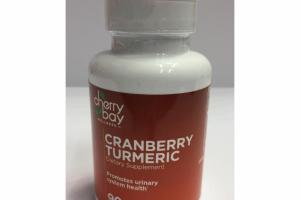 CRANBERRY TURMERIC PROMOTES URINARY SYSTEM HEALTH DIETARY SUPPLEMENT