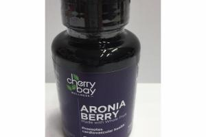 ARONIA BERRY PROMOTES CARDIOVASCULAR HEALTH SOFTGELS