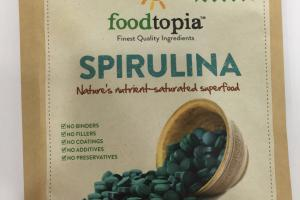 Spirulina Nature's-saturated Superfood