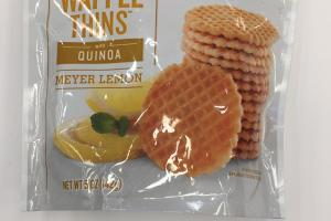 Waffle Thins With Quinoa
