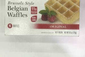 ORIGINAL BRUSSELS STYLE BELGIAN WAFFLES