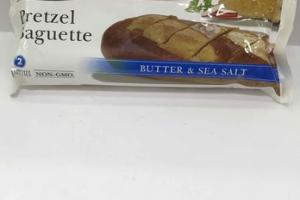 GERMAN STYLE BUTTER & SEA SALT PRETZEL BAGUETTE